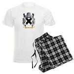 Bald Men's Light Pajamas
