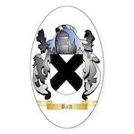 Bald Sticker (Oval 10 pk)