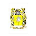 Balcarek Sticker (Rectangle 50 pk)