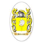 Balcarek Sticker (Oval 10 pk)