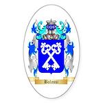 Balassi Sticker (Oval)