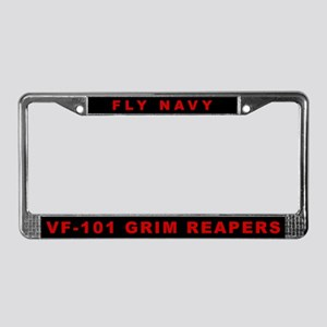 VF-101 License Plate Frame