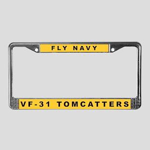 VF-31 License Plate Frame