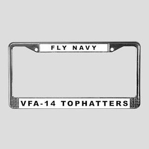 VFA-14 License Plate Frame