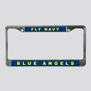 Blue Angels License Plate Frame