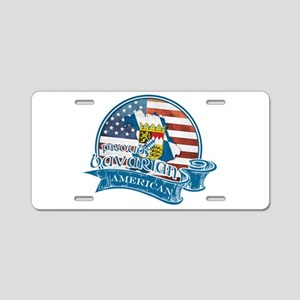 Proud Bavarian American Aluminum License Plate