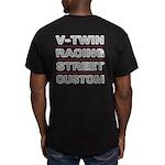 Vrsc Front & Back On Men's T-Shirt
