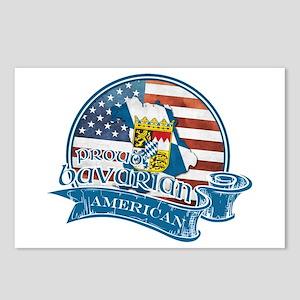 Proud Bavarian American Postcards (Package of 8)