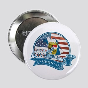 "Proud Bavarian American 2.25"" Button"