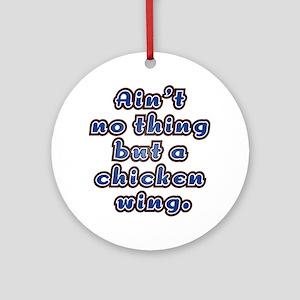 Chicken Wing Ornament (Round)