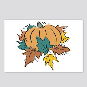 Thanksgiving Pumpkin Postcards (Package of 8)