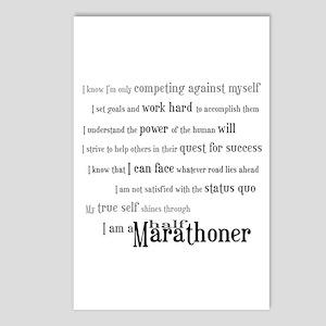 I'm a Half Marathoner Postcards (Package of 8)