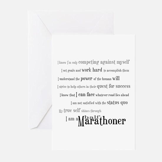 I'm a Half Marathoner Greeting Cards (Pk of 10