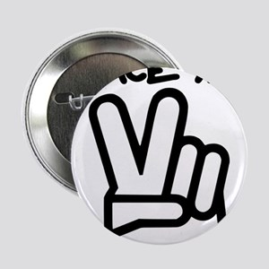 """peace yall outline 2.25"""" Button"""