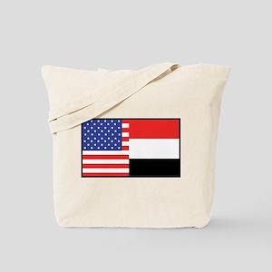 USA/Yemen Tote Bag