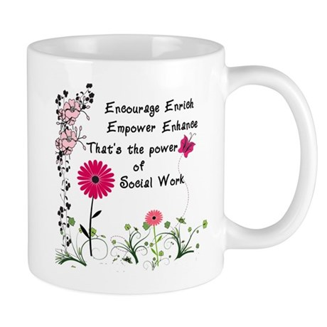 The power of social work Mugs