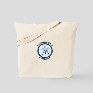 Pensacola Beach - Sand Dollar Design. Tote Bag