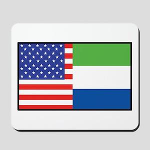 USA/Sierra Leone Mousepad