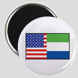 USA/Sierra Leone Magnet