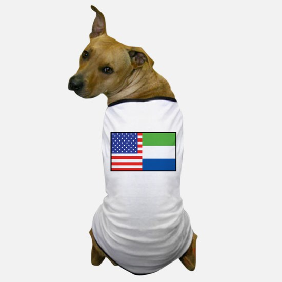 USA/Sierra Leone Dog T-Shirt