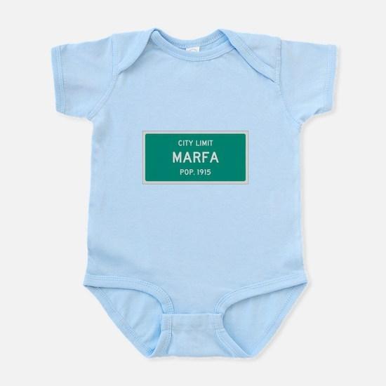 Marfa, Texas City Limits Body Suit