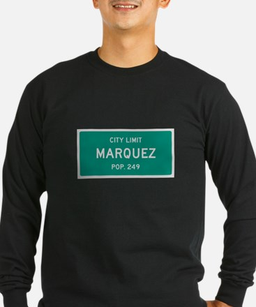 Marquez, Texas City Limits Long Sleeve T-Shirt