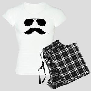 Macho Mustache Women's Light Pajamas
