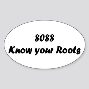 Know your Roots Oval Sticker