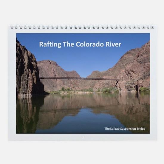 Colorado River rafting Wall Calendar