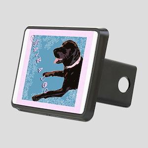 Save A Dog Rectangular Hitch Cover