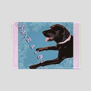 Save A Dog Rectangle Magnet