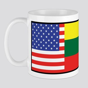 USA/Lithuania Mug