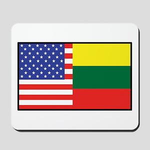 USA/Lithuania Mousepad