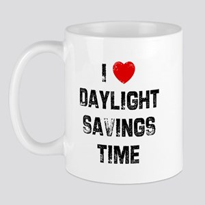 I * Daylight Savings Time Mug
