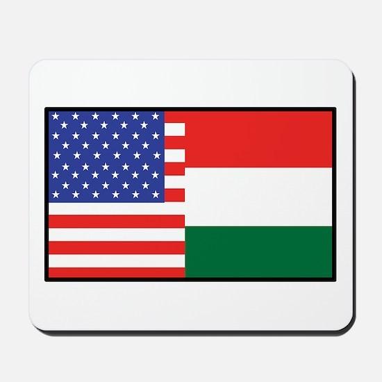 USA/Hungary Mousepad