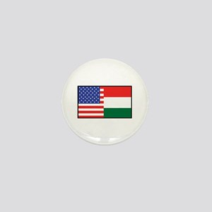 USA/Hungary Mini Button