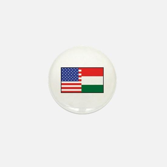 USA/Hungary Mini Button