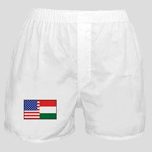 USA/Hungary Boxer Shorts