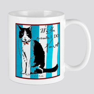 Cat Facts Why Yes, Actually I DO Know It All Mug