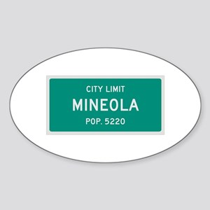 Mineola, Texas City Limits Sticker