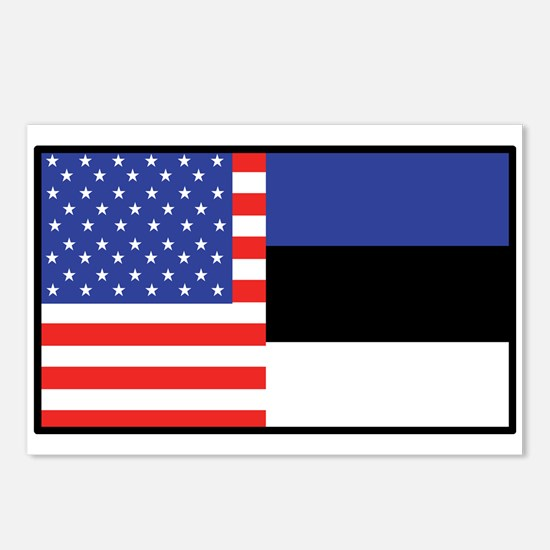 USA/Estonia Postcards (Package of 8)