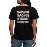 Vrsc Front & Back On Women's T-Shirt