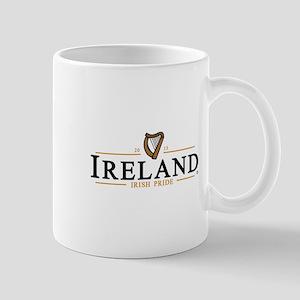 IRELAND / IRISH PRIDE (dark text) Mug