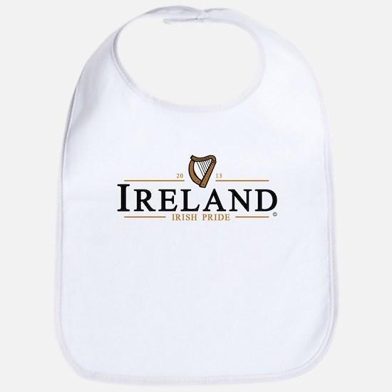 IRELAND / IRISH PRIDE (dark text) Bib