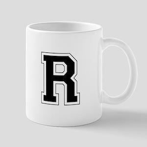 Collegiate Monogram R Mug