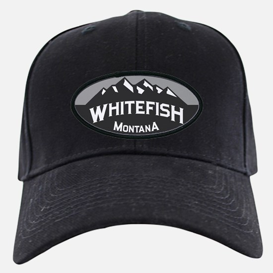 Whitefish Logo Grey Baseball Hat
