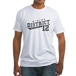 District 12 Design 3 Fitted T-Shirt