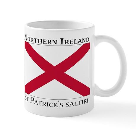 Northern Ireland - St. Patricks saltire Mug