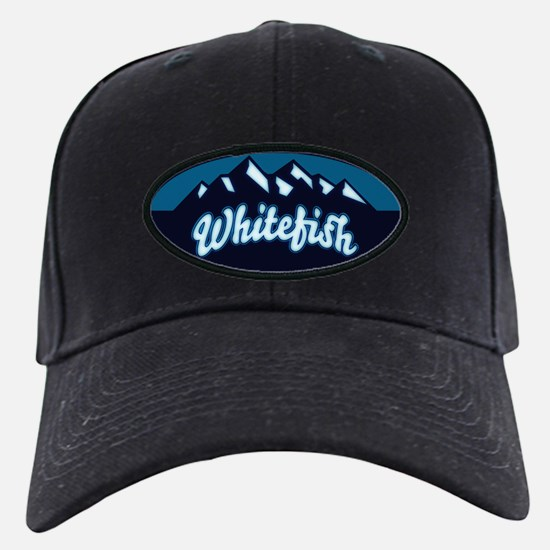 Whitefish Logo Ice Baseball Hat