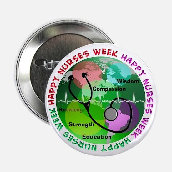 "happy nurses week 2013 2 2.25"" Button (10 pack)"